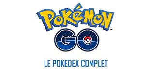 Pokémon GO - Le Pokédex